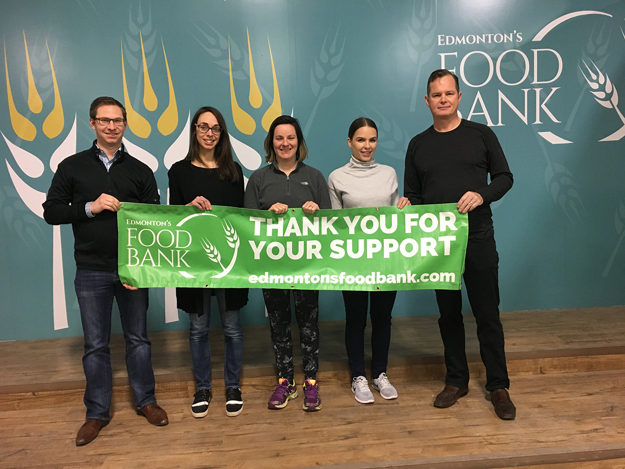 Food Bank Volunteering (7-Dec-17)