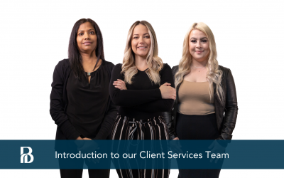 INTRODUCTION TO OUR CLIENT SERVICES TEAM